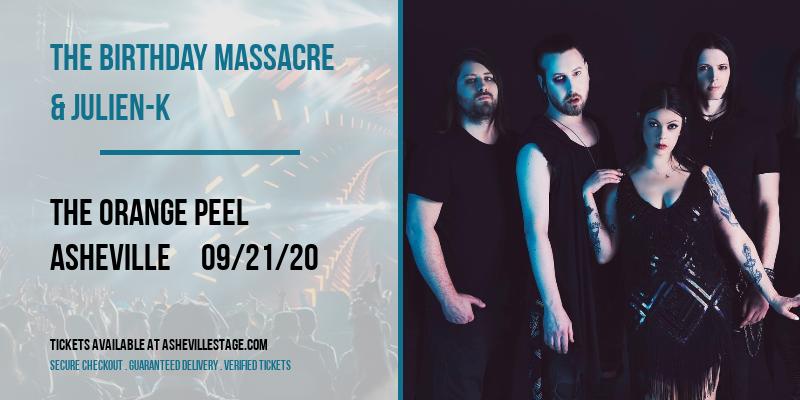 The Birthday Massacre & Julien-K at The Orange Peel
