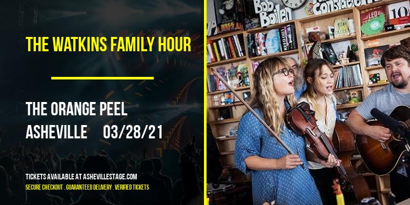 The Watkins Family Hour at The Orange Peel