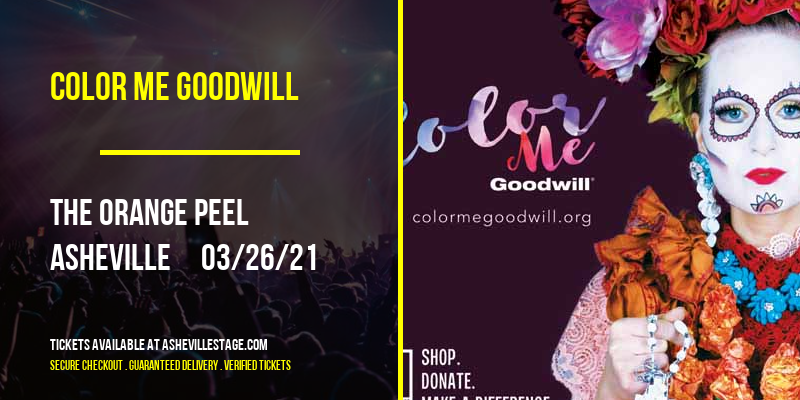 Color Me Goodwill [CANCELLED] at The Orange Peel