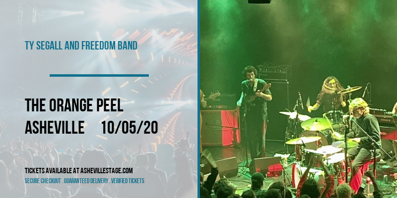 Ty Segall and Freedom Band [CANCELLED] at The Orange Peel
