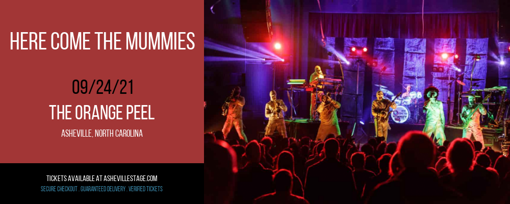 Here Come The Mummies at The Orange Peel