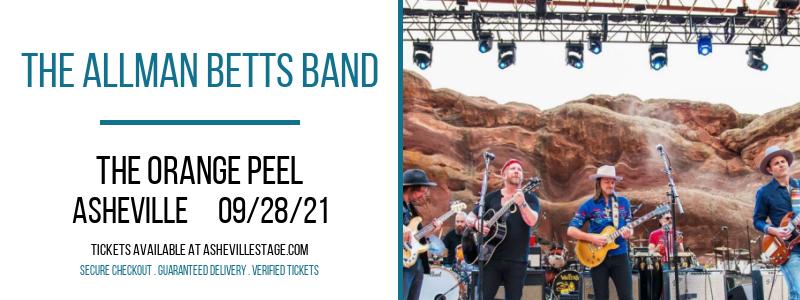 The Allman Betts Band at The Orange Peel
