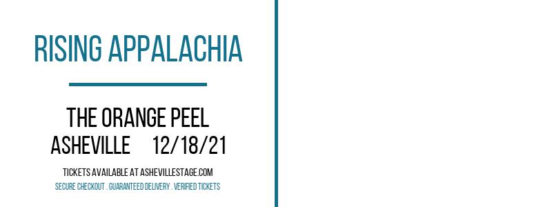 Rising Appalachia at The Orange Peel